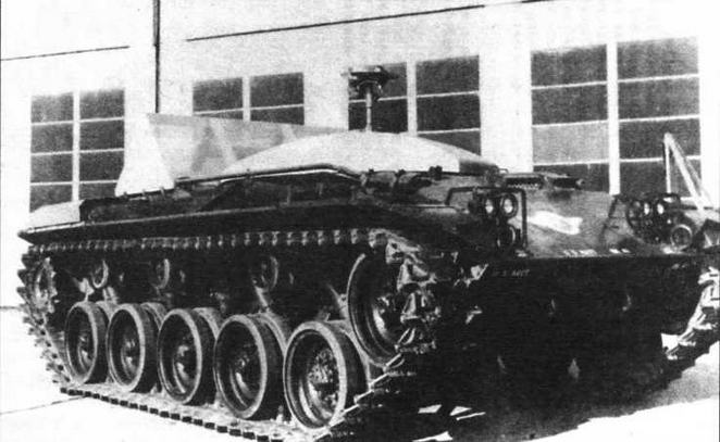 Танк-мишень QM41