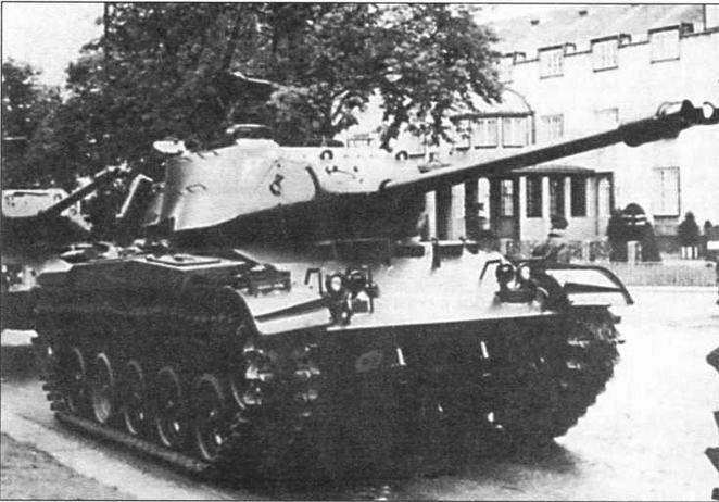 Боевое применение танков М41