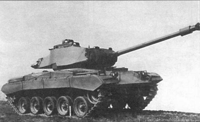 Серийный легкий танк М41 «Уокер Бульдог»