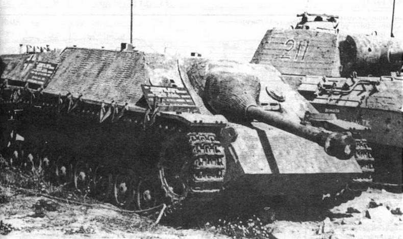 Для npoтивотанковой САУ Jagdpanzer IV был характерен низкий силуэт, что давало ей преимущество в бою