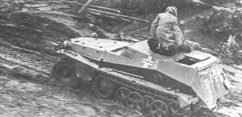 Артиллерийская командирская машина Sd.Krz.253 из состава 1-й танковой дивизии (1.Panzer- Division). Восточный фронт, 1941 год