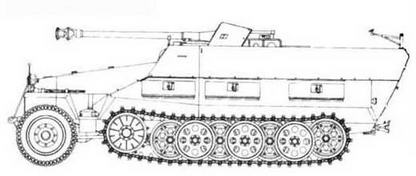 Sd.Kfz.25I/22 Ausf.D
