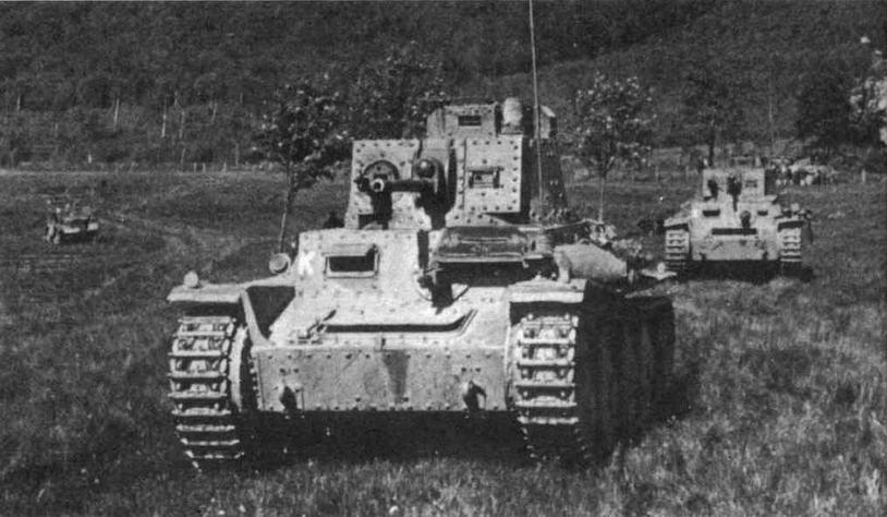 Легкие танки Pz.38(f). Франция, май 1940 года