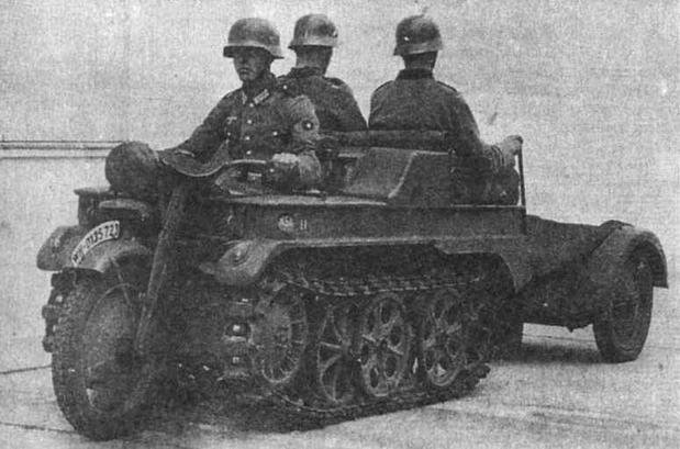 Полугусеничный мотоцикл NSU (Sd.Kfz.2)
