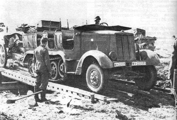 Артиллерийский тягач Sd.Kfz.6. Польша. 1939 ш