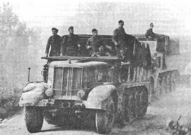 Sd.Kfz.9 — самый тяжелый тягач Вермахта