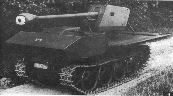 75-мм пушка Pak 40 на шасси тягача Ost — наиболее миниатюрная противотанковая САУ германской армии периода Второй мировой войны