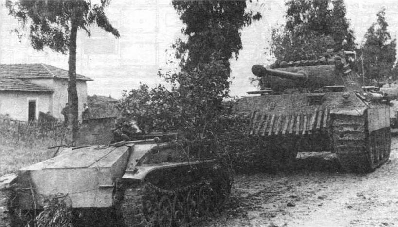 Телетанкетка Borgward BIV Ausf.A из состава 301-ю танкового радиобатальона (301.Panzer-Abteilung (Fkl). Италия. 1943 год