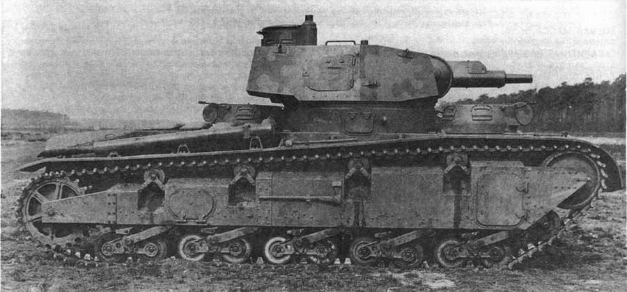 Тяжелый многобашенный танк Nb.Fz