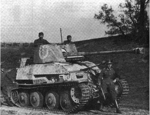 Противотанковая установка Marder III (Sd.Kfz.139). Восточный фронт. 1943 год