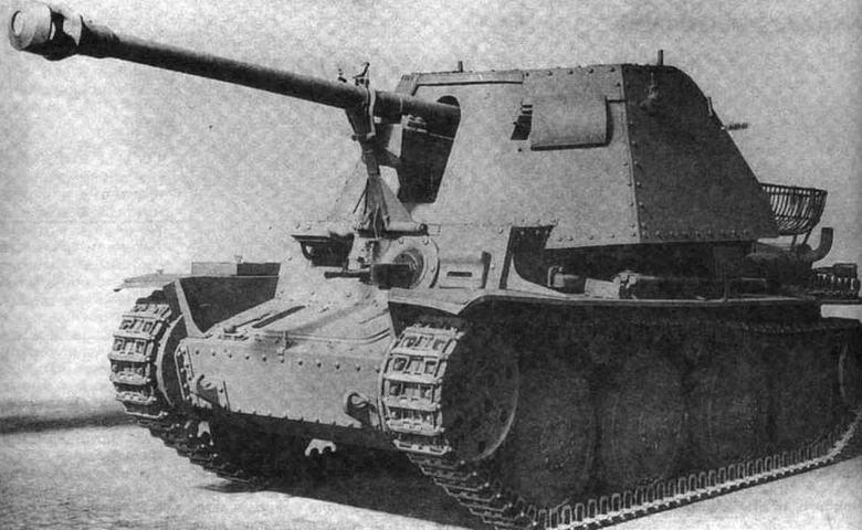 САУ Marder III (Sd-KTz. 138) Ausf.H