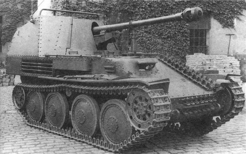 САУ Marder III Ausf.M — наиболее совершенная боевая машина семейства Marder