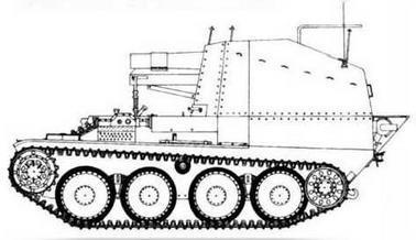 15 cm sIG 33 auf Pz.38(t) Bison M