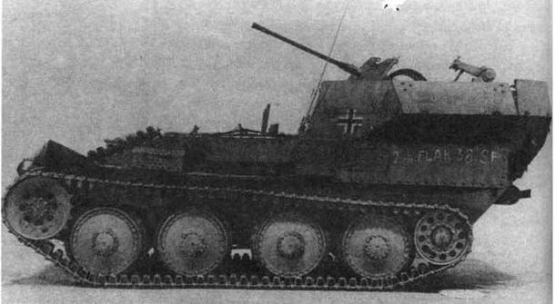 Зенитная самоходная установка Flakpanzer J