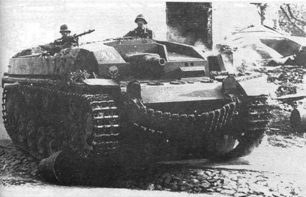Штурмовое орудие StuG III Ausf.A из состава 192-ю дивизиона штурмовых орудий (192.Sturmgesch?tz Abteilung). Восточный фронт. 1941 год