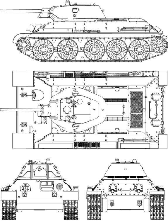 Т-34 выпуска лета 1942 года, СТЗ.