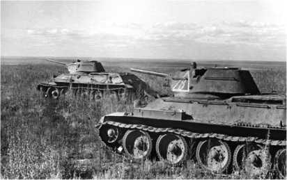 На помощь Сталинграду! В атаке танки Донского фронта. Сентябрь 1942 года.