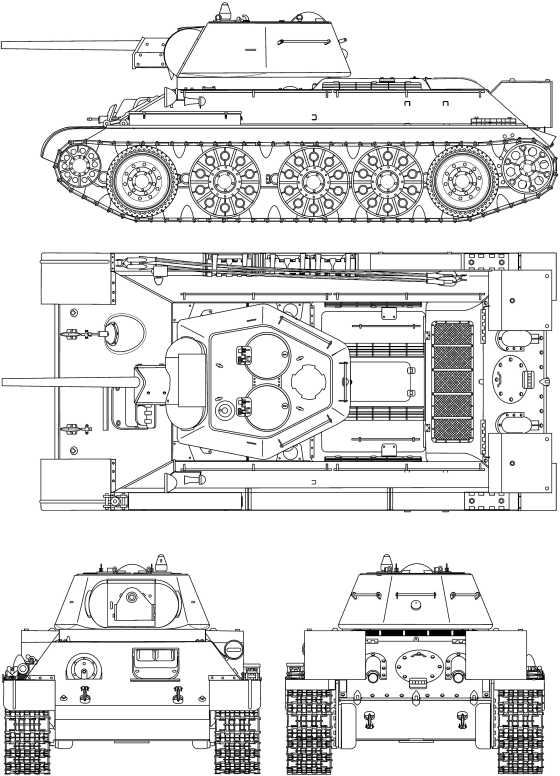 Т-34 с «улучшенной» башней выпуска 1942 года, завод №183.