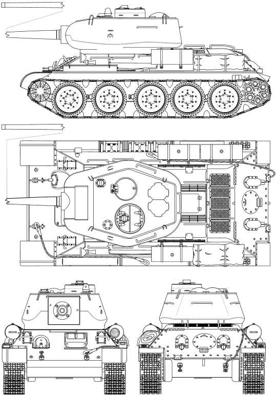 Т-34-85 с пушкой Д-5Т.
