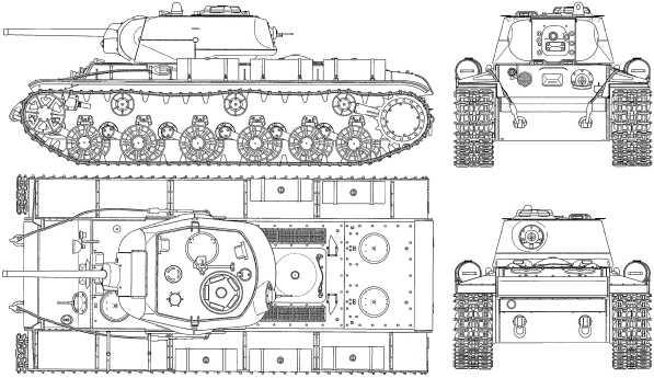 КВ-1с.