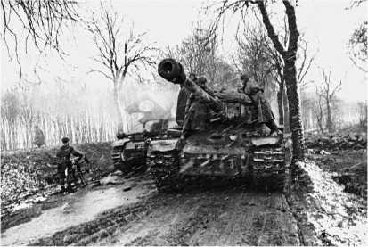 По дороге на Берлин. 1-й Белорусский фронт, 1945 год.