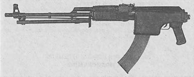 Ручной пулемет РПК 74М