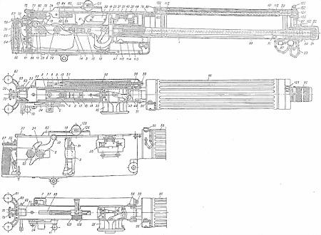 Схема пулемёта максим