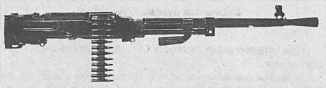 Станковый пулемет Горюнова модернизированный (СГМ)