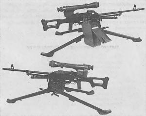 Модернизированный единый пулемет ПКМ