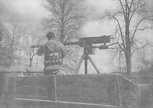 Крупнокалиберный пулемет КПВ, его модификации и установки