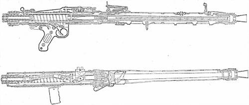 Единый пулемет MG.42 и его семейство