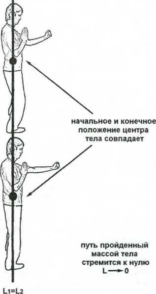 Рис, 1.14. Вложение массы тела без разгона (вставка структуры)