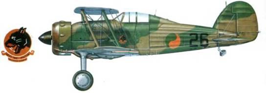 Один из четырех ирландских «Гладиаторов Mk I». Самолет служил в I-й эскадрильи, Билдоннел, Ирландия, 1940–1943г. г.