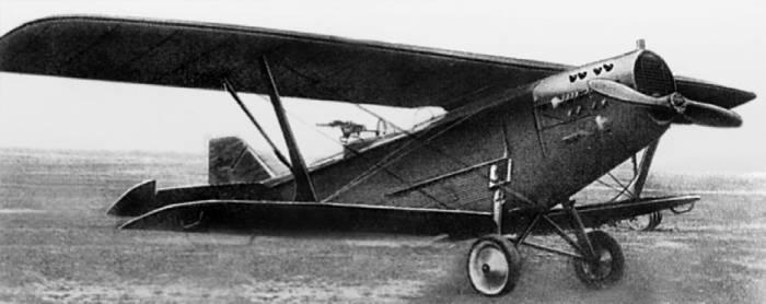 Разведчик Р-3 с мотором «Лорэн-Дитрих»
