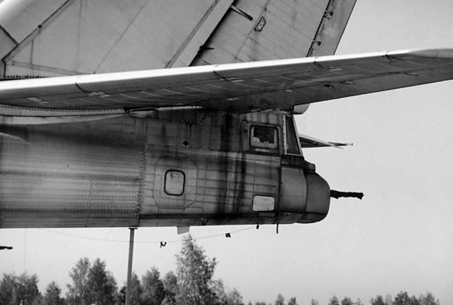 Кормовые артиллерийские установки первых Ту-95МС комплектовались пушками АМ-23