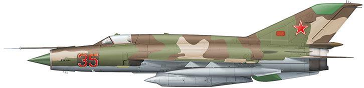 МиГ-21Р из состава 263-й отдельной разведэскадрильи. Кабул, весна 1983 года