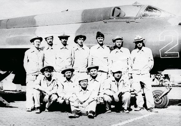 Летный состав 263-й отраэ. Кабул, июль 1983 года