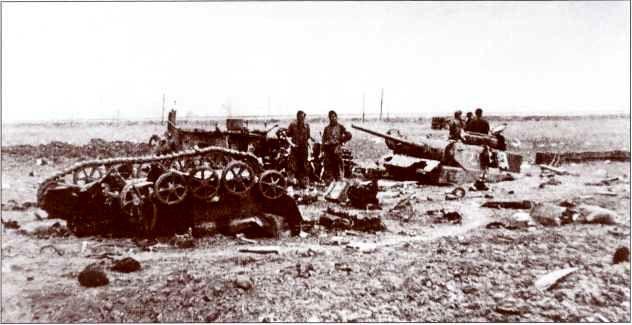 Прямое попадание советского снаряда в дистанционно управляемую танкетку B-IV привело к детонации 350кг взрывчатки, находившихся на борту «Боргварда». Мощности взрыва оказалось достаточно для уничтожения еще одного из командных танков PzKpfw III.