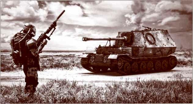 В фильме режиссёра Майкла Чэнса «Проект Арбитр» (Project Arbiter, 2013) один-единственный «Фердинанд», уже оснащённый пулемётной установкой, на 13 июля 1943г. находится в Польше, где его экипаж несёт службу по охране виллы. Впрочем, жанр фильма — военная фантастика (military science fiction).