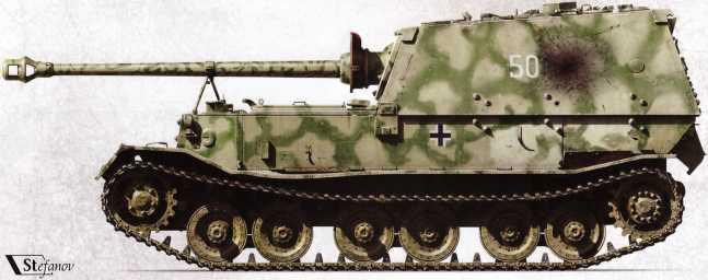 Трофейный №501 был доставлен на Научно-испытательный бронетанковый полигон в Кубинке для проведения испытаний.