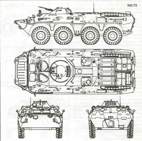 Бронетранспортер БТР-80