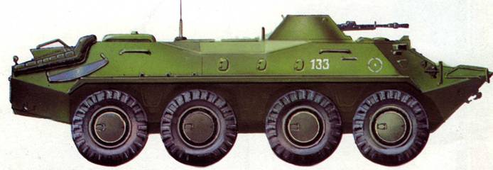 Бронетранспортер БТР-70. 144-я мотострелковая дивизия, 1993 год.