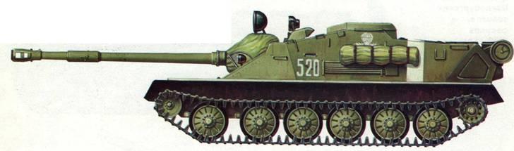 Самоходная установка АСУ-85. Учения «Двина», 1970 год.