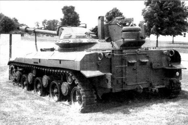 Опытный образец легкого танка Т92 ныне находится в военном музее на Абердинском полигоне в США