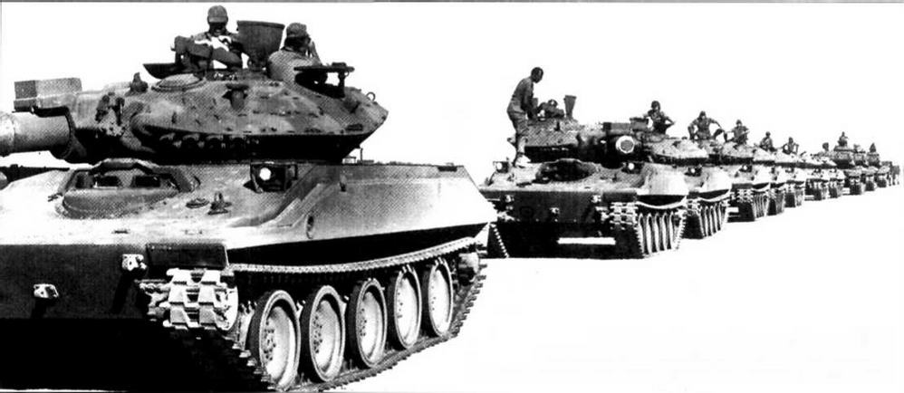 С 1980-х годов в ходе учений армии США «шериданы» с демонтированным вооружением активно использовались в качестве машин посредников