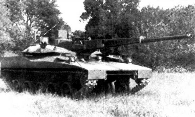 Экспериментальный легкий танк HSTV-L