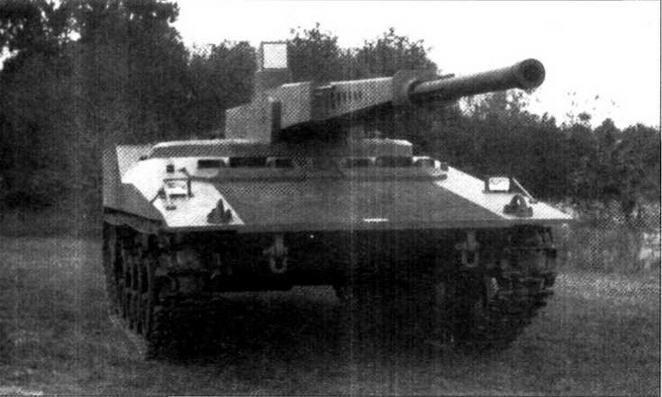 Второй вариант танка RDF/LT с дистанционно управляемой пушкой ARES