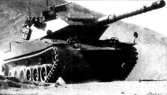 Легкий танк «Стингрей», предназначенный для армии Таиланда
