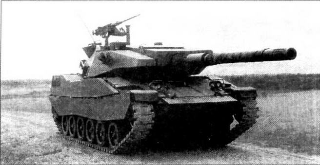 Опытный образец легкого танка «Стингрей» во время испытаний