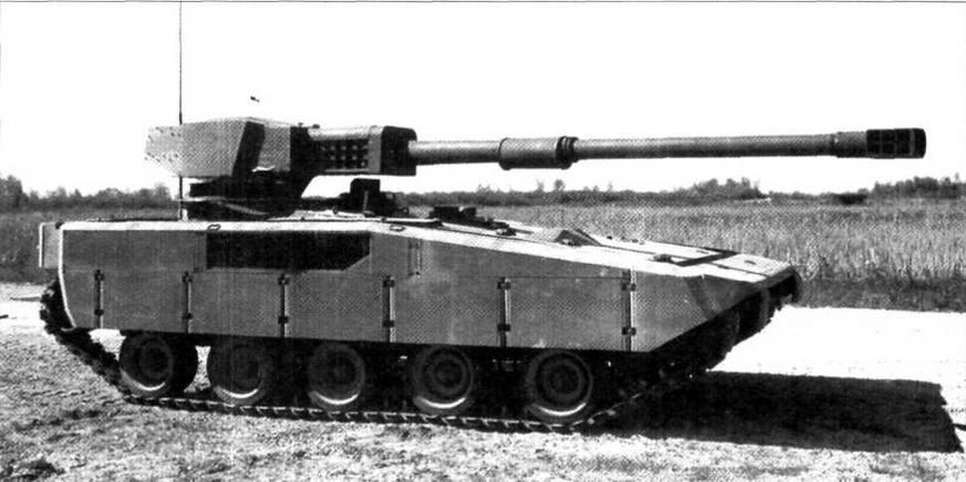 Экспериментальный легкий танк AGS. Форт-Нокс, май 1986 года
